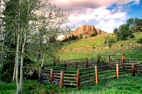 Steamboat Rock--Bighorn Mountains, Wyoming