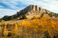 Steamboat Rock & Fall Colors--6