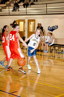 8th Girl's Basketball V. Colstrip