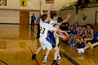 SJHS Boy's Basketball V. Twin Spruce-3042