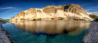 Lookout Lake Panorama--Snowy Range, Wyoming-